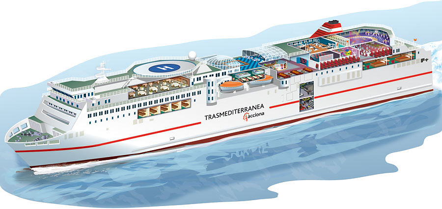 Superferry Fortuny